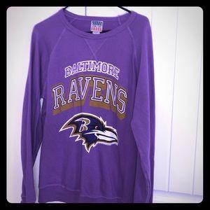 Women's Junkfood Baltimore Ravens Sweatshirt